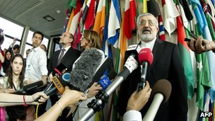 Ali Asghar Soltanieh, Iran&#039;s envoy to IAEA (08/06/12)