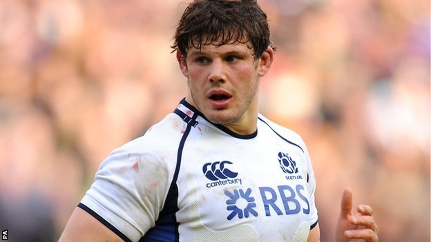 Scotland captain Ross Ford