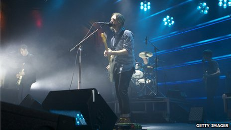 Ed O'Brien, Thom Yorke, Ed Selway and Jonny Greenwood