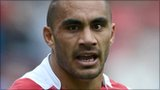 Wigan Warriors half-back Thomas Leuluai