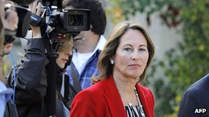 Defeated candidate Segolene Royal, 17 Jun 12