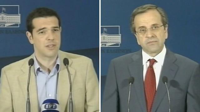 Tsipras and Samaras