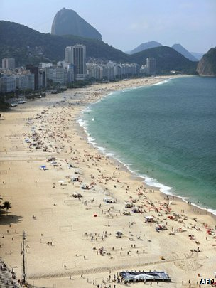 Copacabana beach, Rio