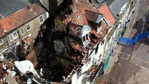 Cupola House fire, Bury St Edmunds