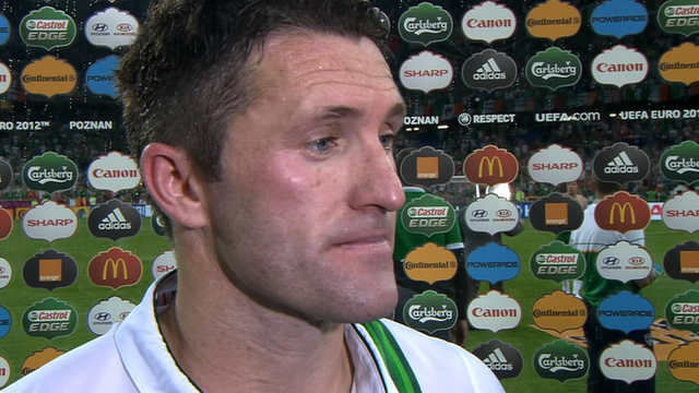 Republic of Ireland's Robbie Keane