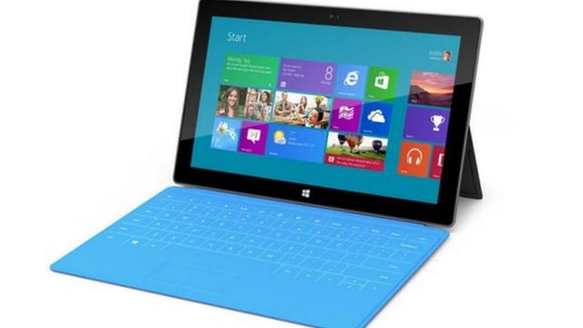 Surface tablet and cover