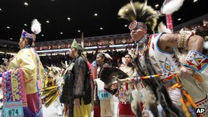 Native Americans in New Mexico. Photo: April 2012