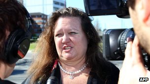 File photo: Gina Rinehart