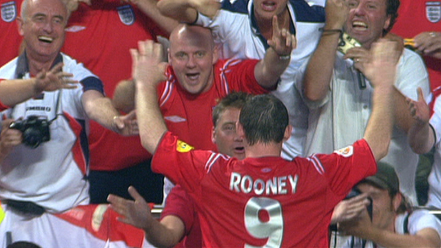 Wayne Rooney 2004 Gallery BBC Sport Euro Wayne Rooney s four goals at Euro