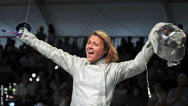 Olga Kharlan, 2012 European sabre champion