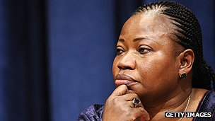 ICC chief prosecutor Fatou Bensouda