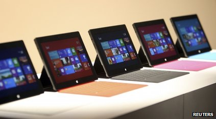 Microsoft's Surface tablets