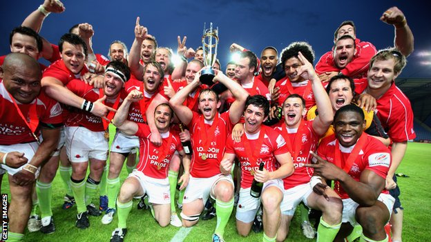 London Welsh lift the Championship title