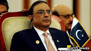 President Asif Ali Zardari (file image)