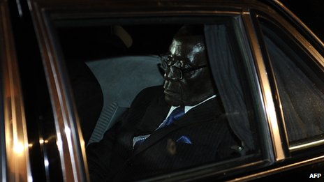 Zimbabwe President Robert Mugabe