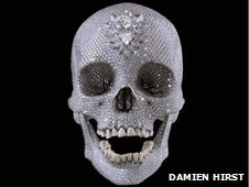 For the Love of God (2007) by Damien Hirst, copyright Damien Hirst and Science Ltd