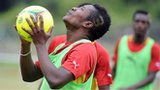 Ghana and Al Ain striker Asamoah Gyan