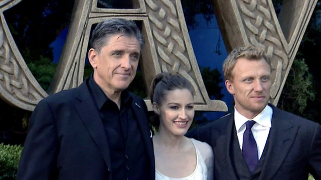 Craig Ferguson, Kelly MacDonald and Kevin McKidd