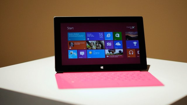 Microsoft's new tablet