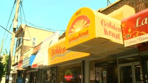 A Golden Krust storefront