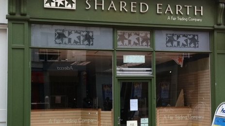Shared Earth shop