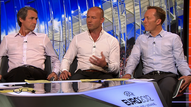 Alan Hansen, Alan Shearer and Lee Dixon