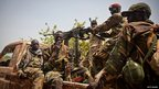 Soldiers of the South-Sudan's Sudan People's Liberation Army