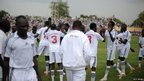 South Sudan football team