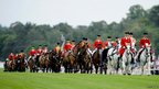 The royal procession at Ascot