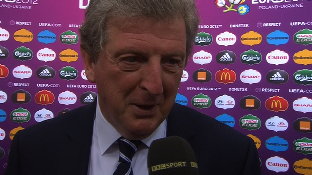 England manager Roy Hodgson