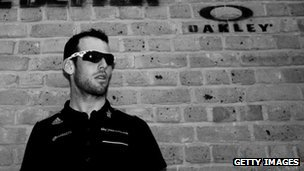 Mark Cavendish at an Oakley sunglasses launch in May