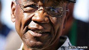 Lesotho's Prime Minister Tom Thabane