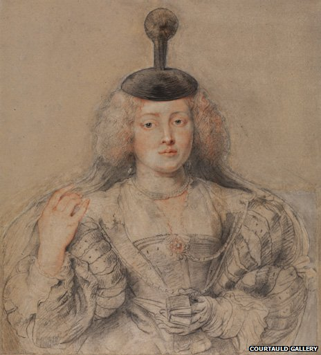 Portrait of Helena Fourment (1630-31) by Peter Paul Rubens image courtesy of The Courtauld Gallery, London