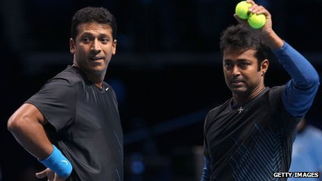 Leander Paes and Mahesh Bhupathi are India's best-known tennis players