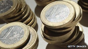 Euro coins (generic image)