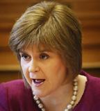 Nicola Sturgeon, SNP deputy first minister