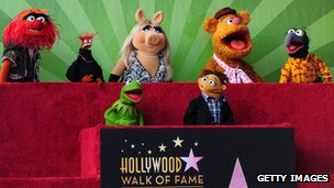 The Muppets on the Hollywood Walk of Fame