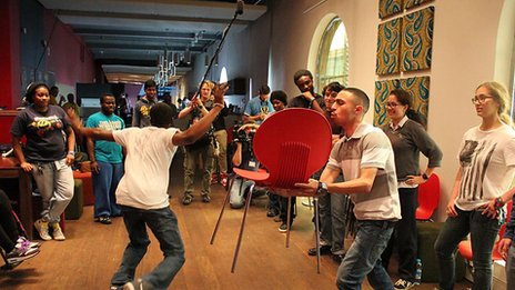 Physical comedy workshop