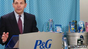 Bob McDonald, P&amp;G chief executive