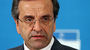 Greek premier Samaras
