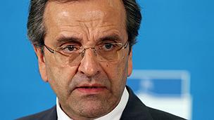 Greek premier Samaras