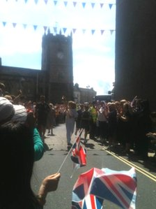 The Olympic torch relay arrives in Richmond