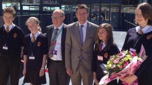 Sebastian Coe opens Richmond School