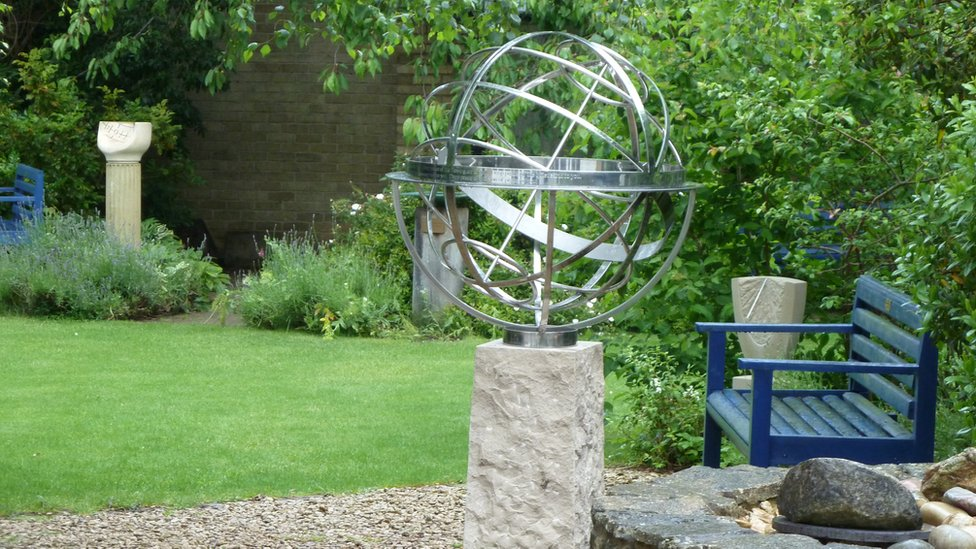A Stainless Steel Armillary Sphere By David Harber