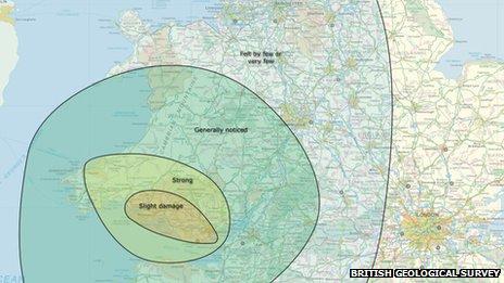 How the 1906 Swansea earthquake was felt