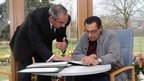 Hosni Mubarak recovers from an operation at the University of Heidelberg's hospital in Germany (19 March 2010)