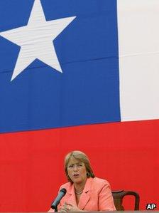 Michelle Bachelet in 2006