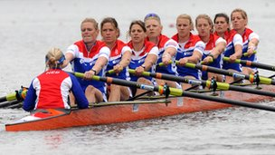 Dutch women's 8 crew
