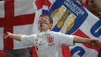 A young England fan