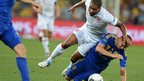 Yaroslav Rakitskiy challenges Glen Johnson